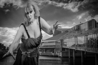 Nancy Young Hullywood Icon Number 1 Film: The Return of the Fifty Foot Woman Location: Princes Quay.