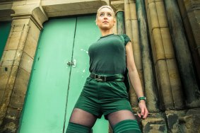 Hullywood Icon number 14 Film: Tomb Raider Location: Rear of St Stephen's Shopping Center.