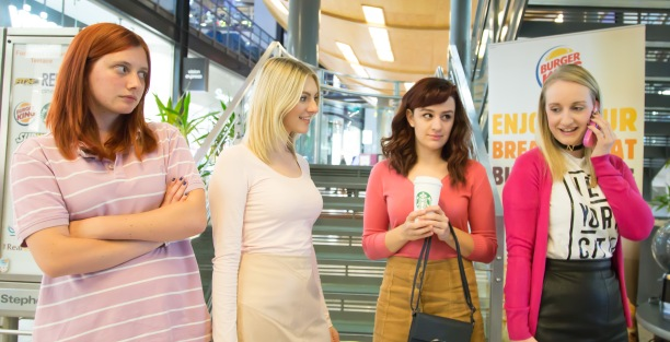 Hullywood Icons numbers 21-25 Film: Mean Girls Location: St Stephen's Shopping Centre.