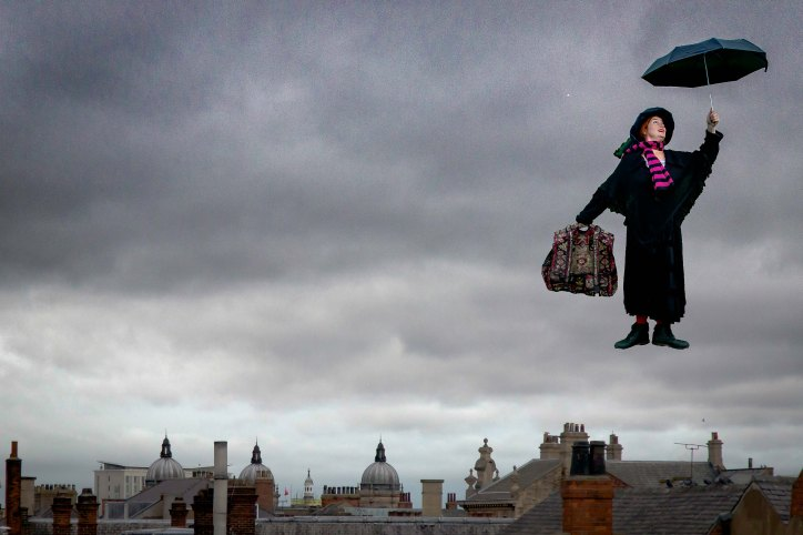 Hullywood Icon number 36 Film: Mary Poppins Location: Home, Beverley.