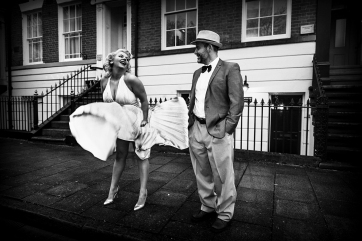Hullywood Icon number 88 and 89 Film: The Seven Year Itch Location: New Theatre Square.
