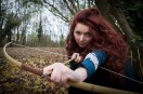 Hullywood Icon number 104 Film: Brave Location: Humber Bridge, Country Park.