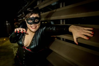 Hullywood Icon number 163 Film: Cat Woman Location: C4DI Building.